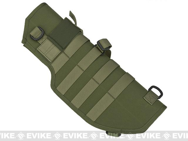 Laylax Battle Style Sheath / Holster for MP7A1 Airsoft Sub Machine Guns - OD Green