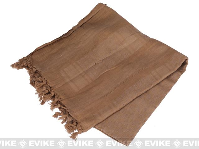 Matrix Woven Coalition Desert Shemagh / Scarves - (Tan)
