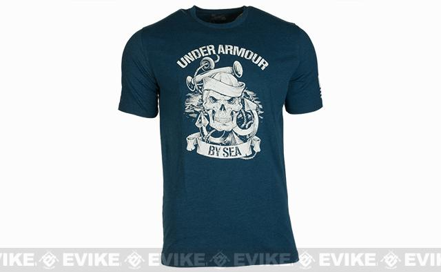 Under Armour Men's UA Freedom Navy T-Shirt - Ultra Blue (Size: Large)