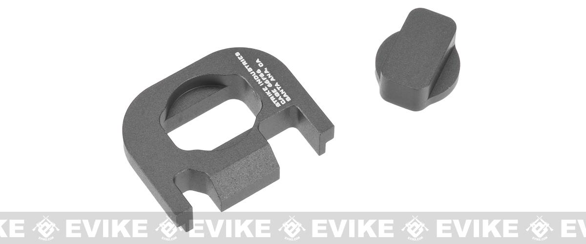 Strike Industries  V1 Slide Plate for Glock Series Handguns - Grey