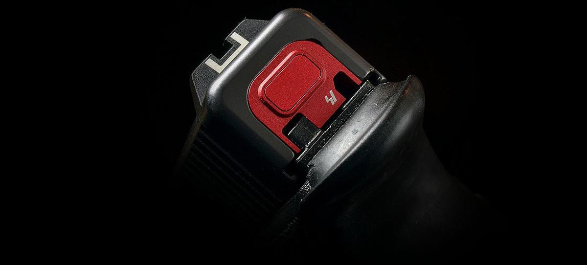 Strike Industries  V1 Slide Plate for Glock Series Handguns - Red