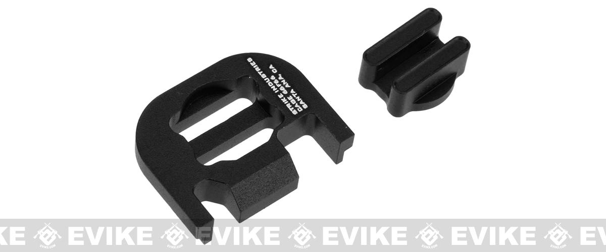 Strike Industries  V2 Slide Plate for Glock Series Handguns - Black