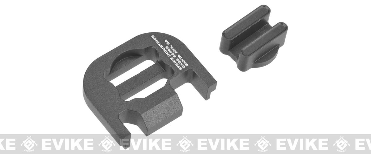 Strike Industries  V2 Slide Plate for Glock Series Handguns - Grey