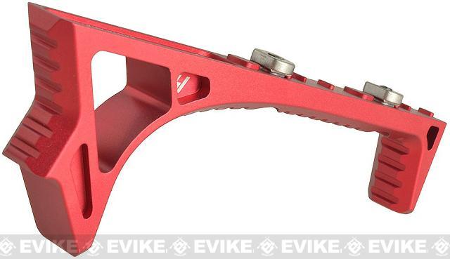 Strike Industries Link Curved KeyMod/M-Lok ForeGrip - Red