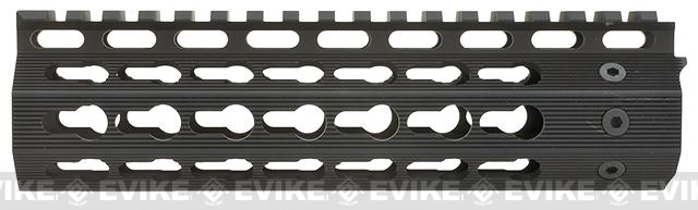 Strike Industries 7 Mega Fins Gen 2 Free Float Drop-In Keymod Handguard for M4 / M16 / AR15 Series Rifles - Black