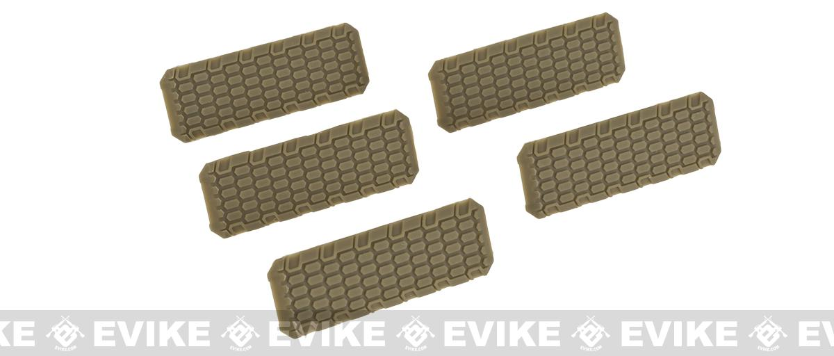 Strike Industries M-LOK Rail Covers V2 - FDE