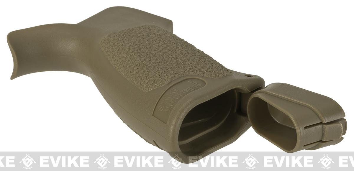 Strike Industries Enhanced PRO Patriot Tactical Pistol Grip - Flat Dark Earth