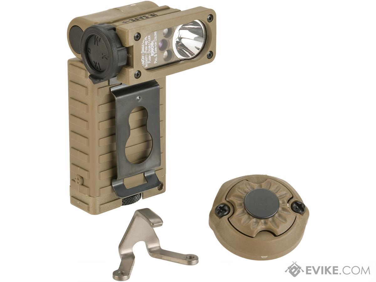 Streamlight Sidewinder Helmet Light System  with E Mount - Coyote