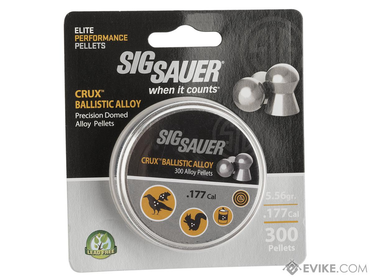 Sig Sauer Elite Performance CRUX Ballistic Alloy .177 cal 5.56gr Lead-Free Pellets (Qty: 300)