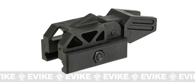 Valken Airsoft Polymer Folding Back-Up Sight - Black