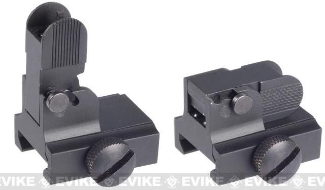 AIM Sports Real Steel Grade M4 / M16 / AR15 Flip-up Front Sight