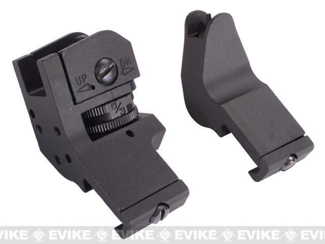 Avengers Ambidextrous 45 degree Offset Sight Set for Airsoft Rifles