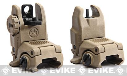 Magpul Gen2 Tactical Flip-Up MBUS Back-Up Rear Sight - Dark Earth