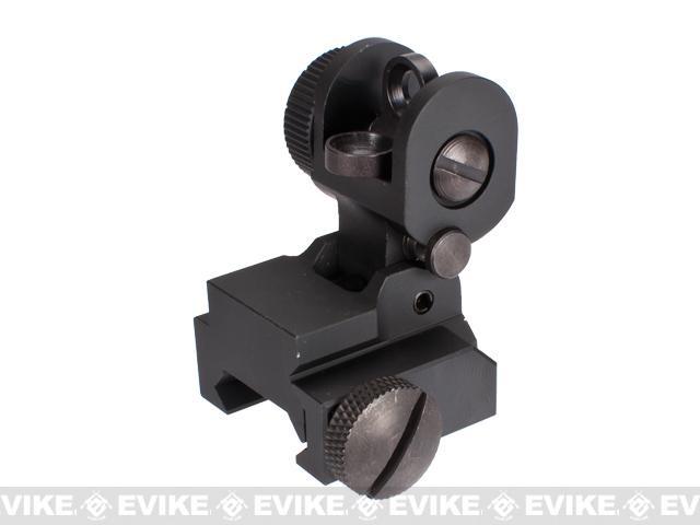 AIM Sports AR15/M16 A2 Dual Aperture Rear Flip-up Sight