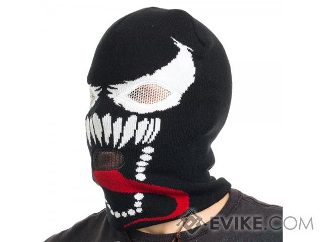 Marvel Licensed Venom Knit Ski Mask
