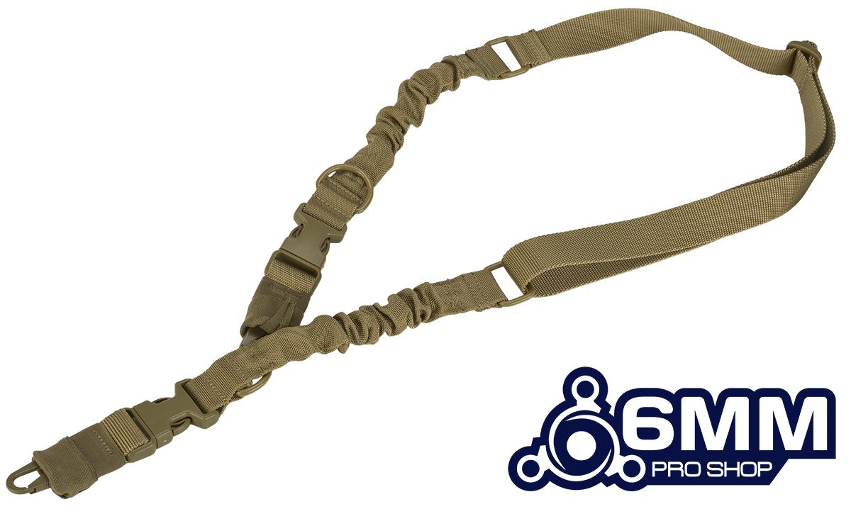 6mmProShop Convertible 2-1 Point Tactical Sling - Tan