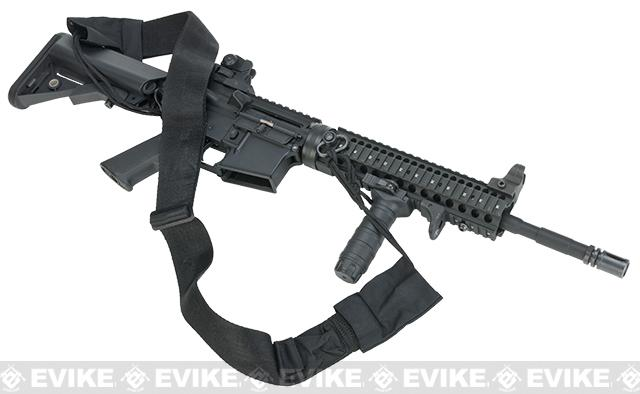 Phantom Gear Deluxe 2 Wide High Speed Rifle Sling - Black