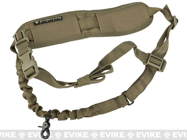 Phantom Gear 1-Point High Speed Load Bearing Bungee Sling - Tan