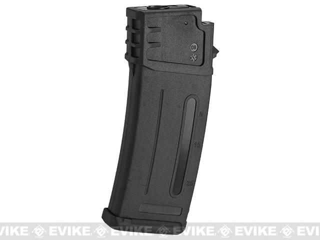 Matrix 300rd Flash Mag Slim Hi-Cap Magazine for G36 Series Airsoft AEG Rifles - Black