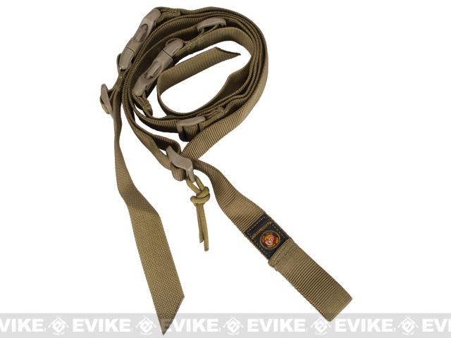 USMC Mk24 2-point Tactical Sling - Coyote Brown