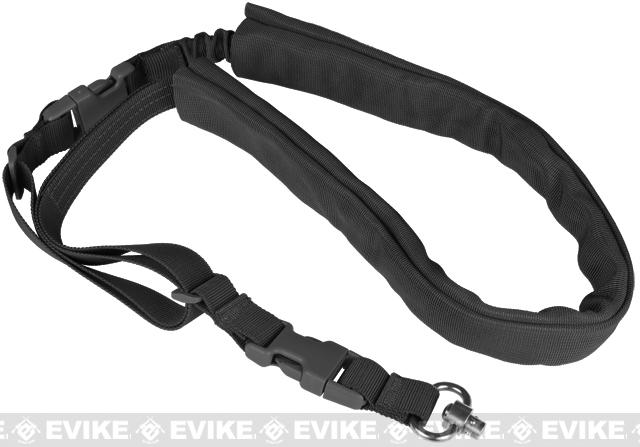Matrix High Speed Single-Point Bungee Sling w/ QD Swivel - (Black)