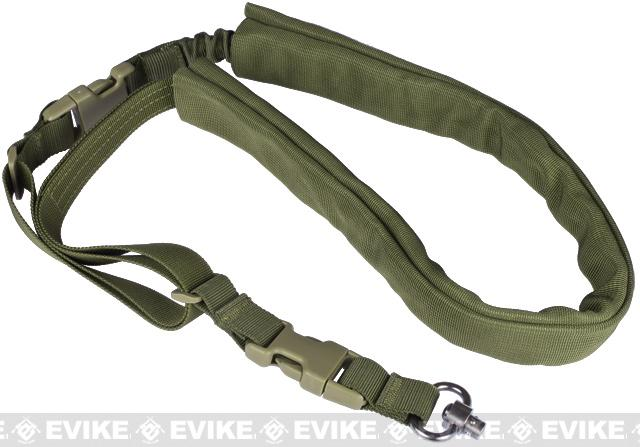 Matrix High Speed Single-Point Bungee Sling w/ QD Swivel - (OD Green)