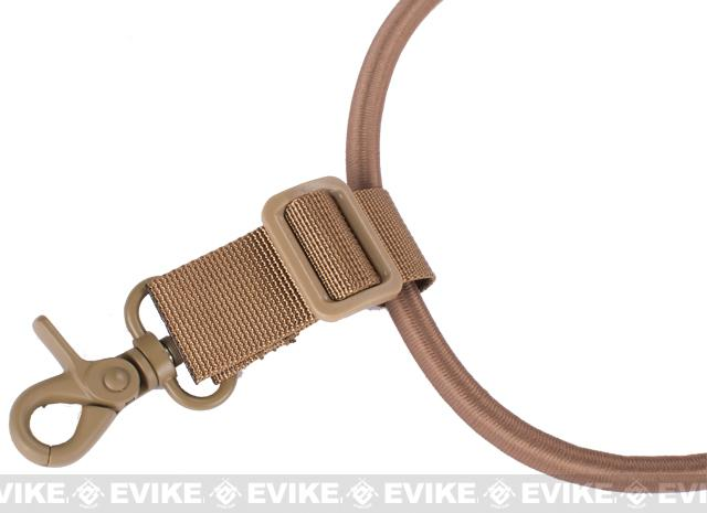 Matrix High Speed Single-Point Bungee Cord Sling with QD Buckle - Digital Desert