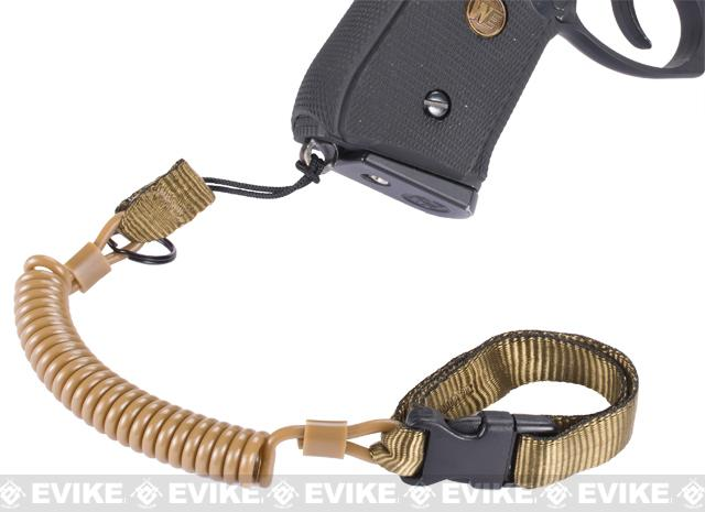 z Matrix MKI Type Stealth Tactical Pistol Lanyard MK1 - Tan
