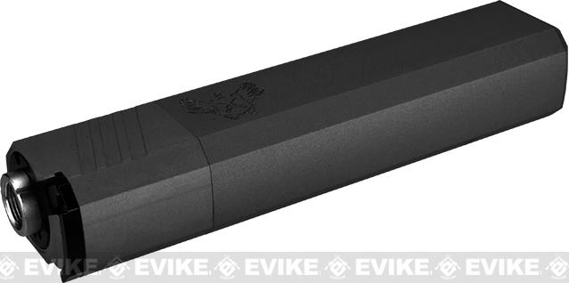 SilencerCo Osprey 9mm Mock Suppressor 14mm CW - Black