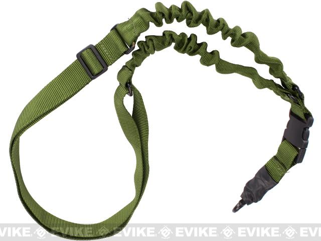 Matrix Single Point Dual Bungee Sling - (OD Green)