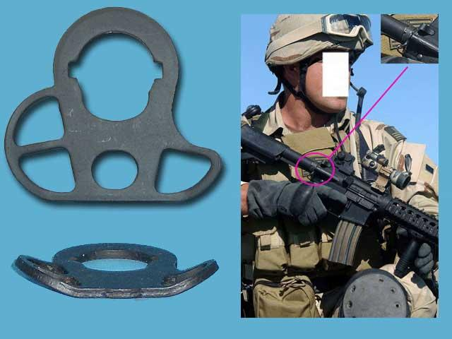 Matrix CQB-R Type Sling Adapter Plate For M4 / M16 / AR / CQB-R Type Airsoft AEG