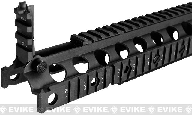 Matrix Navy Seal Type 10.75 RIS for M4 M16 Series Airsoft AEG Rifles - Black