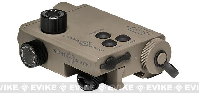 Sightmark LoPro Combo Green Laser / LED Illuminator - Dark Earth