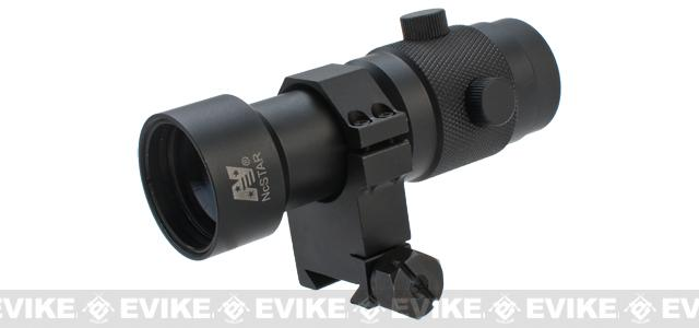 NcSTAR 3X Magnifier Scope with 1.5 Ring Mount