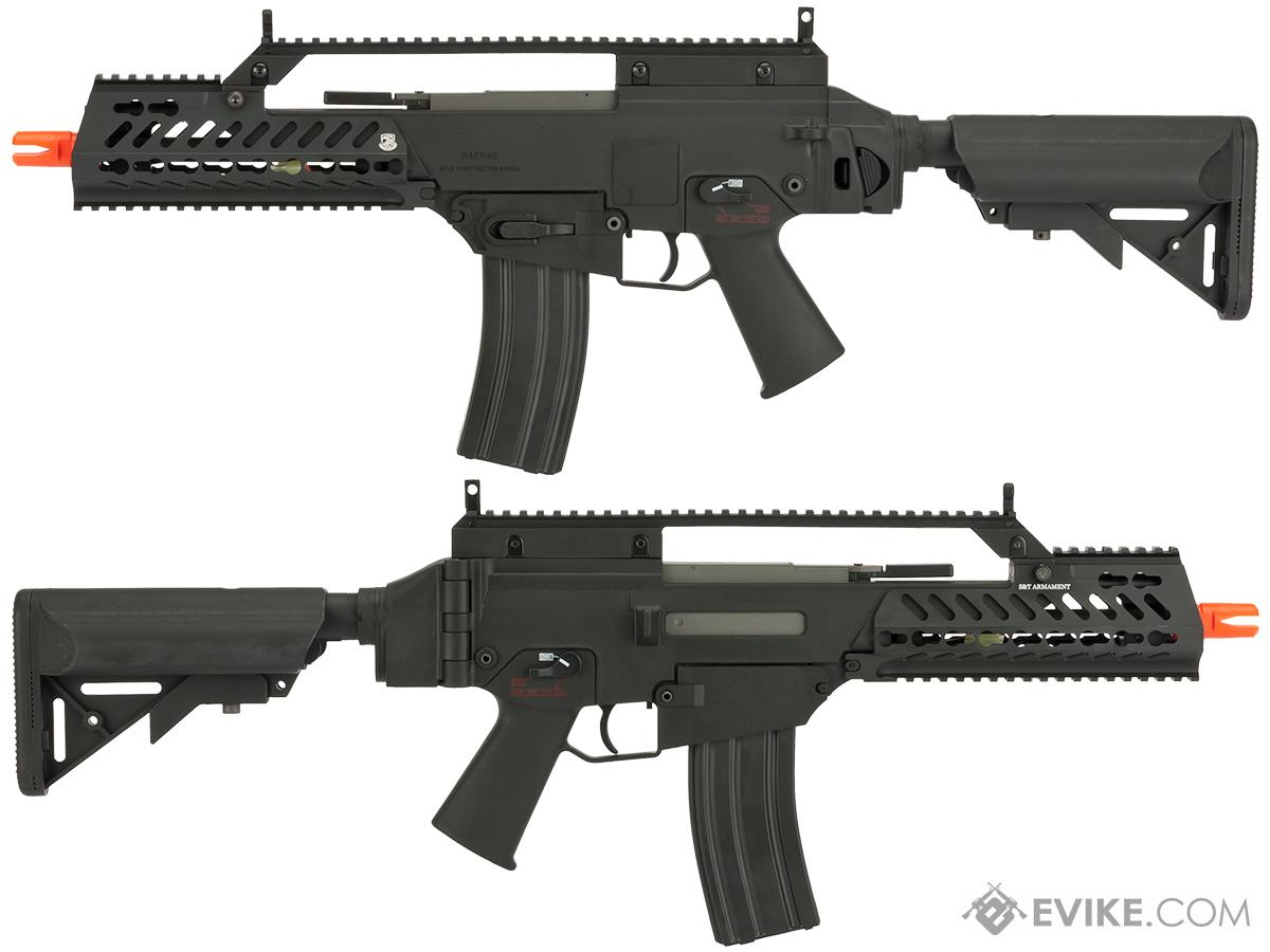 S&T IP-316C Electric Blowback Airsoft AEG with Keymod Handguard