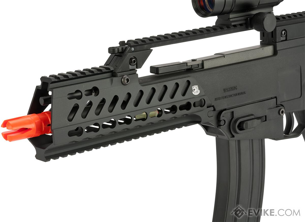 S&T MK3 CQC Electric Blowback Airsoft AEG with Keymod Handguard