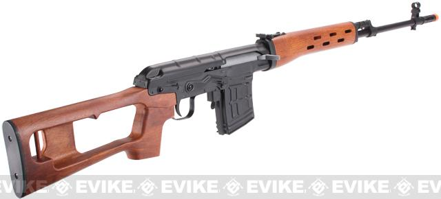 A&K SVD Dragunov Bolt Action Sniper Rifle - Imitation Wood Furniture