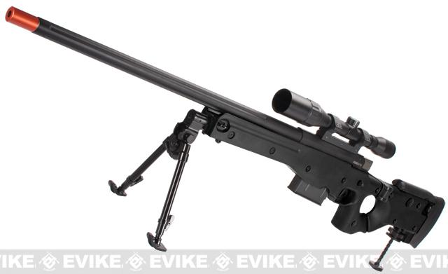 ARES Accuracy International AW338 Airsoft Sniper Rifle - Black