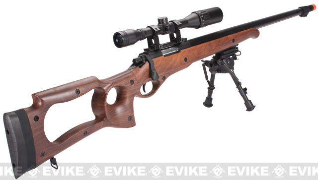Matrix M70 Airsoft Bolt Action Sniper Rifle - Imitation Wood