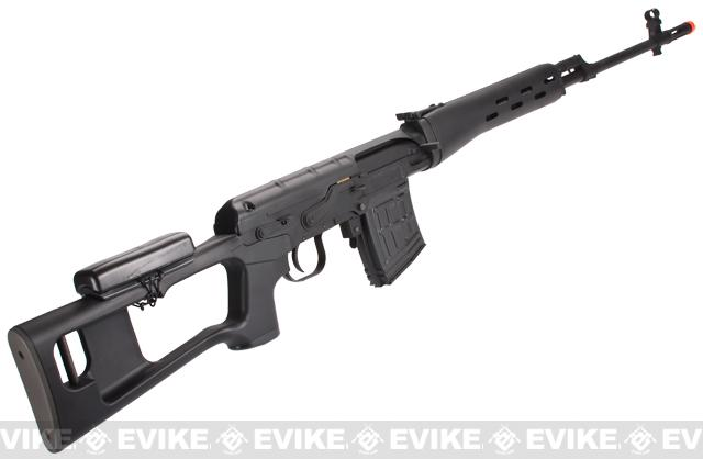 z King Arms Full Metal Kalashnikov SVD Airsoft Bolt Action Sniper Rifle