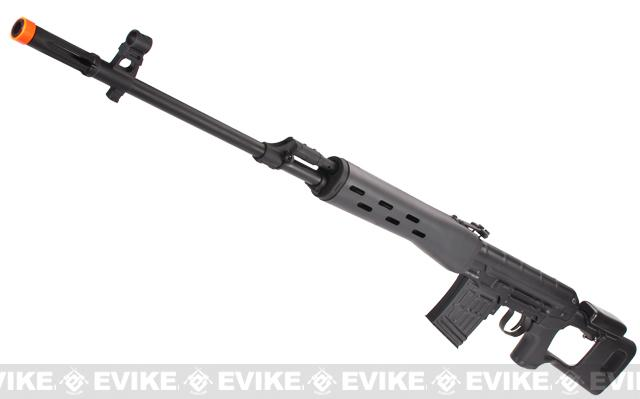 Bone Yard - King Arms Full Metal Kalshnikov SVD Airsoft Bolt Action Sniper Rifle (Store Display, Non-Working Or Refurbished Models)