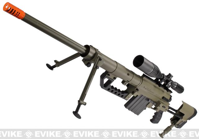 SOCOM Gear Cheytac M200 Shell Ejecting 8mm Airsoft Gas Sniper Rifle - Tan