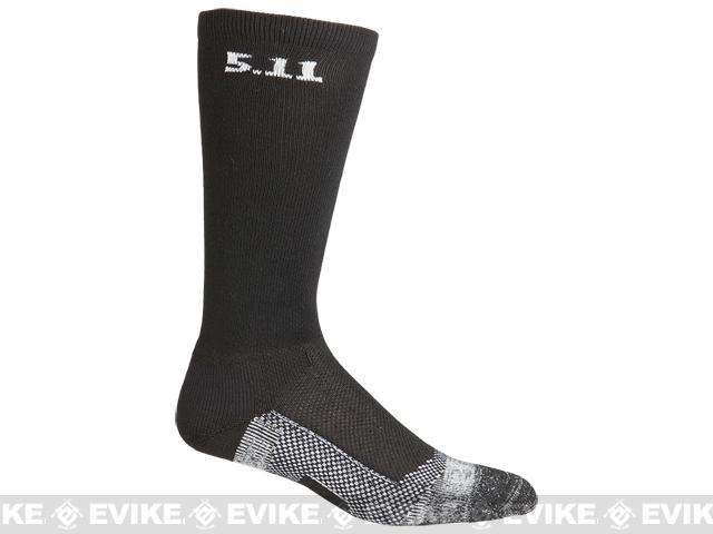 5.11 Tactical Level I 9 Socks - Black