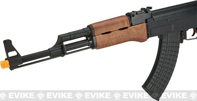 Classic Army Full Metal AK47 Fixed Stock Airsoft AEG Rifle with Imitation Wood Furniture