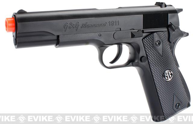 G&G 1911 Airsoft Spring Pistol Package