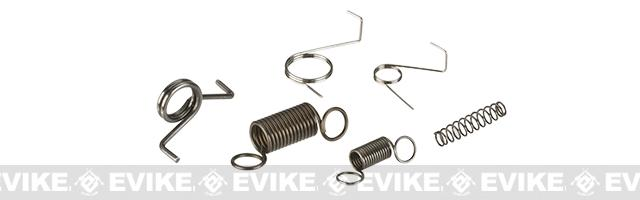 G&P Reinforced Spring Set for Airsoft AEG Ver.2 and Ver.3 Gearbox