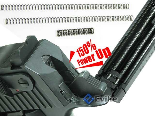 Guarder Enhanced Recoil / Hammer Spring (150%) for Marui & Compatible D. Eagle Style series gas blowback