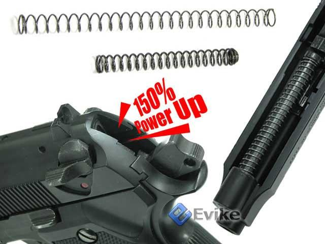 Guarder Enhanced Recoil / Hammer Spring (150%) for Marui & Compatible M9 series Gas Blowback