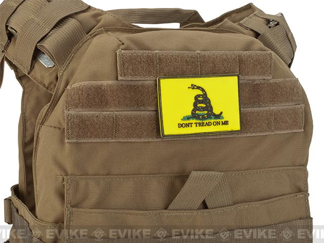 MoeGuns Gadsen Flag 3D PVC Morale Patch - Full Color