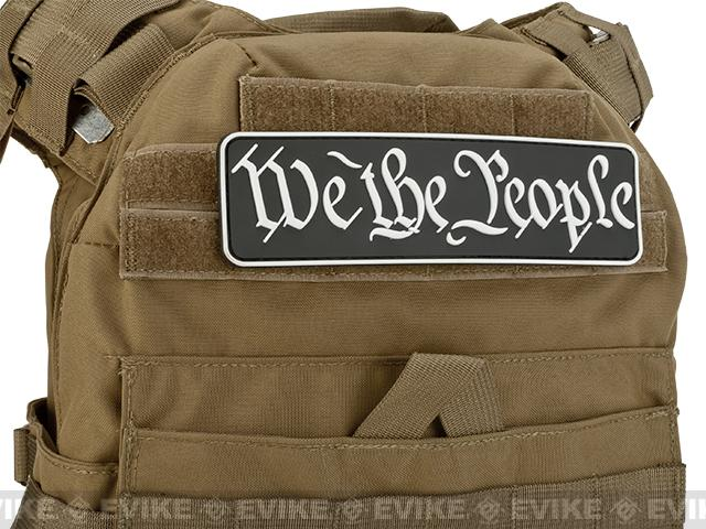 MoeGuns We The People 3D PVC Morale Patch